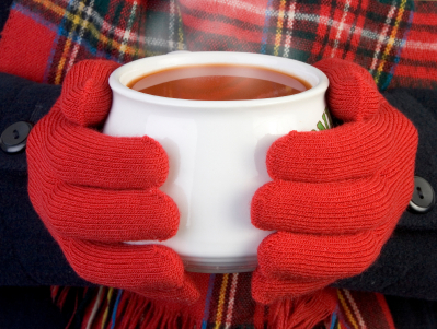 warming cup of soup